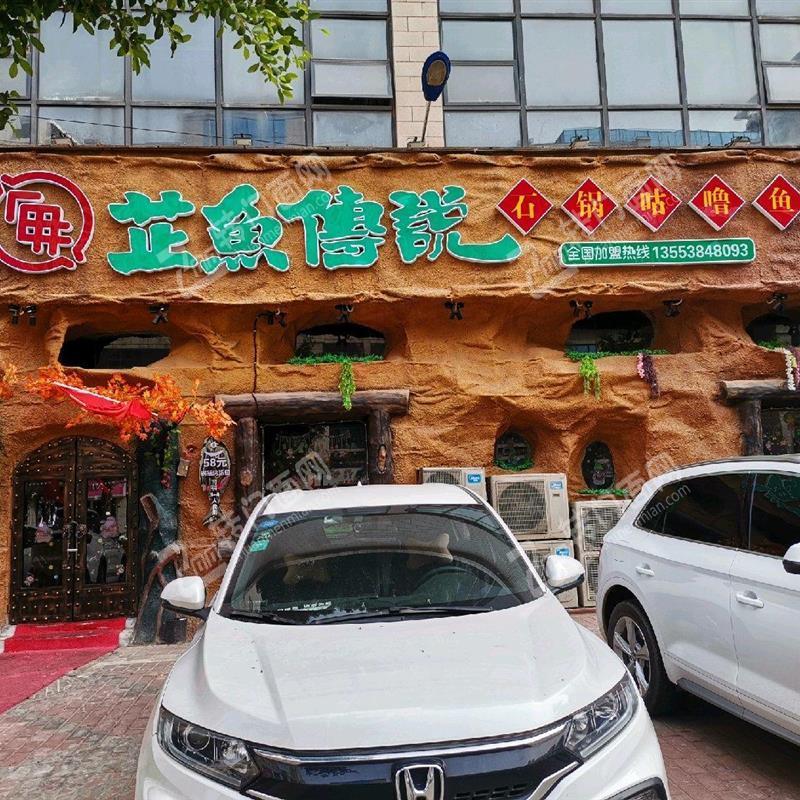 南康城市商业中心餐饮店四个门头非常大气门口停车方便